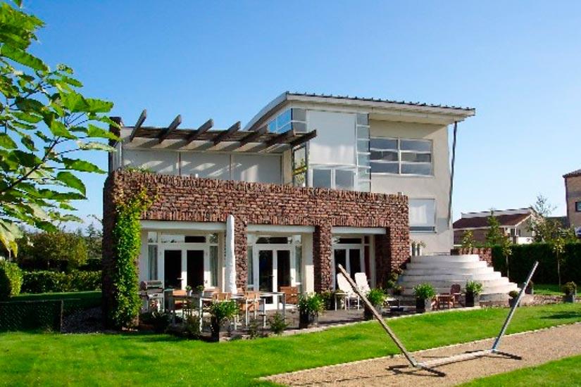 Nieuwbouw moderne woning bergse plaat ri jo bv - Moderne uitbreiding huis ...